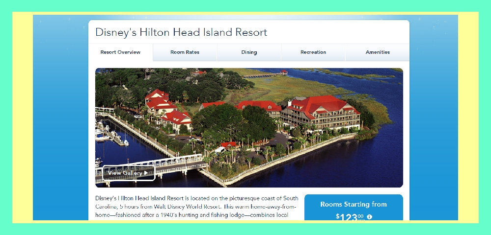Disney Resorts Hilton Head