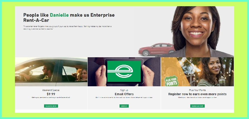 Enterprise Car Rentals