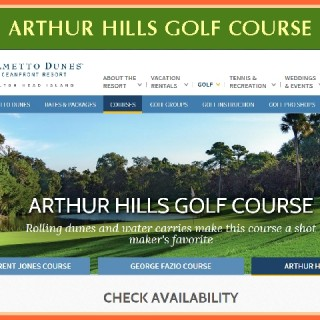 Arthur Hills Golf Course