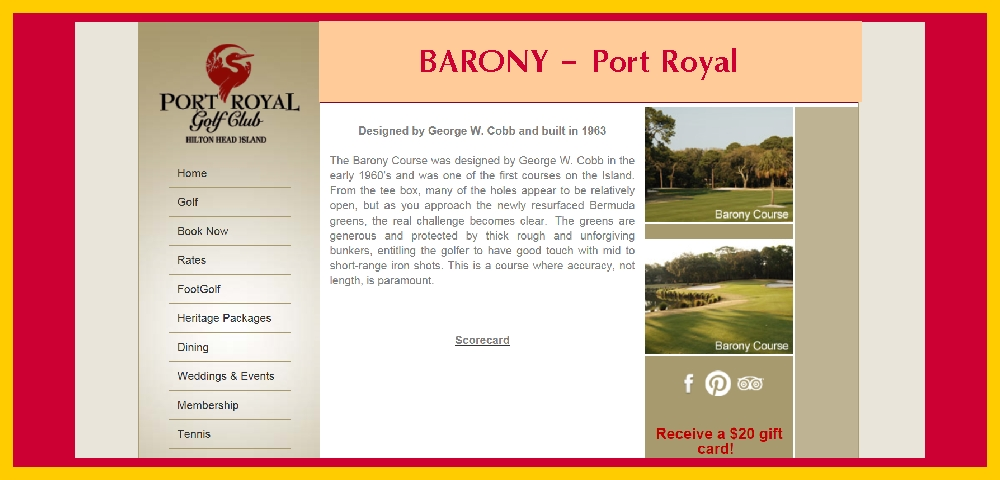 Barony Golf Course
