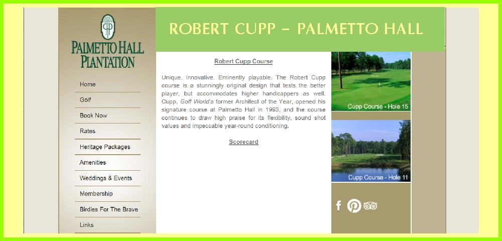 Robert Cupp Golf Course