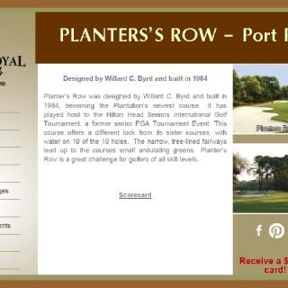 Planters Row Golf Course