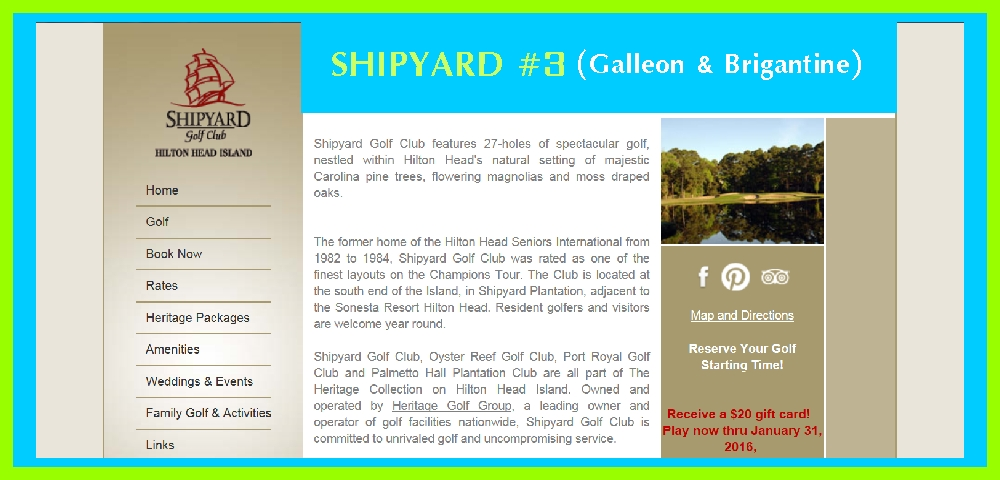 Shipyard #3 Golf Course
