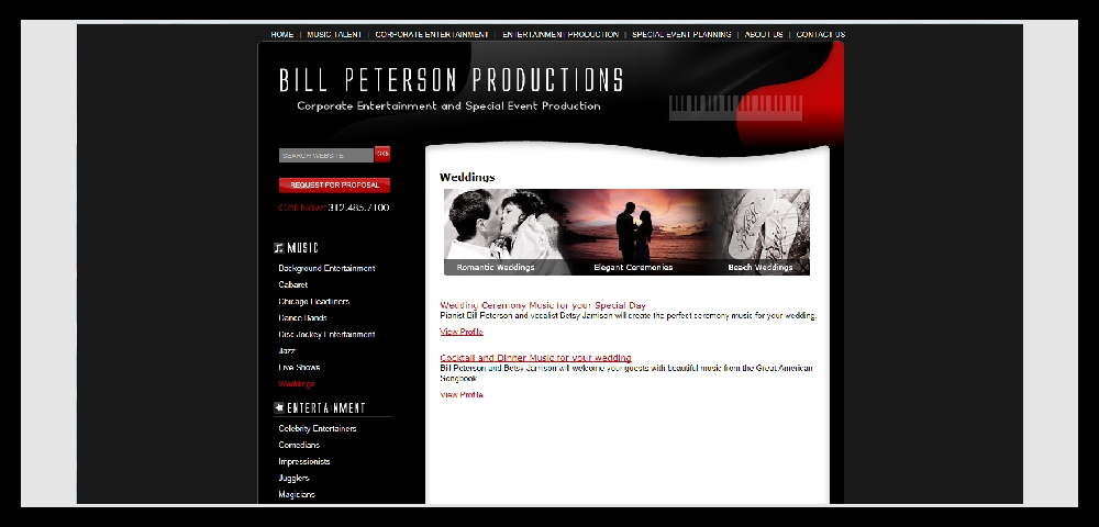 BILL PETERSON PRODUCTIONS