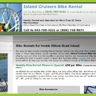 HILTON HEAD ISLAND CRUISERS