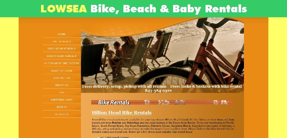 LowSea Bike Rentals