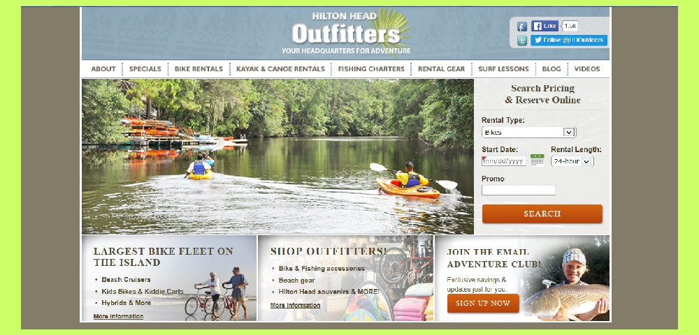 HILTON HEAD OUTFITTERS