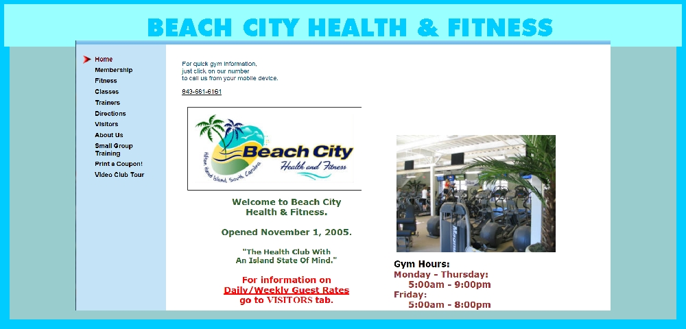BEACH CITY HEALTH & FITNESS