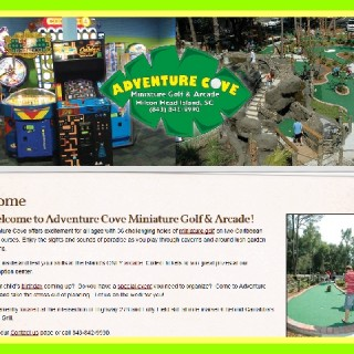 ADVENTURE COVE MINIATURE GOLF