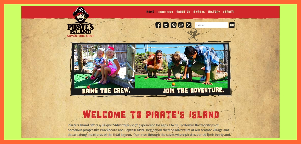 PIRATE'S ISLAND MINIATURE GOLF
