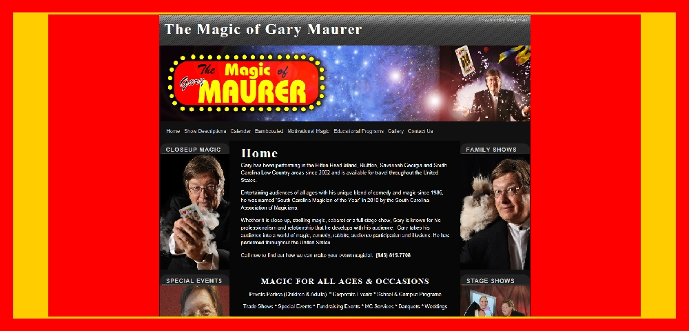 THE MAGIC OF GARY MAURER
