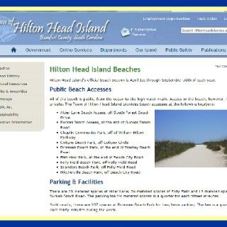 TOWN OF HILTON HEAD