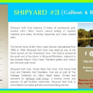 Shipyard #3 Golf Course