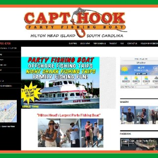 CAPTAIN HOOK PARTY FISHING BOAT